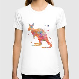 Colorful Kangaroo T-shirt