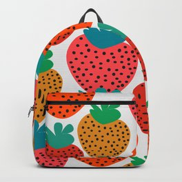 Funny strawberries Backpack