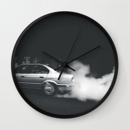 Friday Burnout Wall Clock