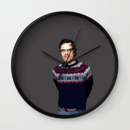 Jemaine Clement 2 Wall Clock