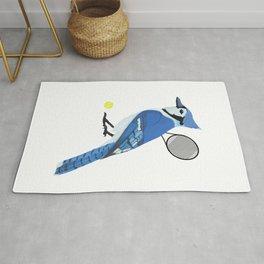 Tennis Blue Jay Rug