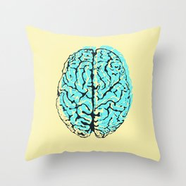 Think Outside the Borders Throw Pillow