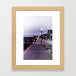 Digital Street Framed Art Print
