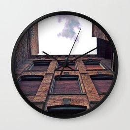 Historic view up Wall Clock