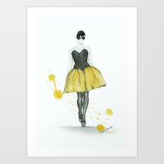 High fashion Art Print