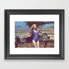 Sabine 2 Framed Art Print