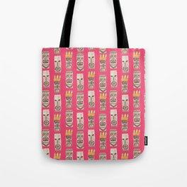 Tiki Tote Bag
