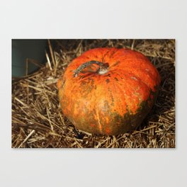 Pumpkin Says Pick Me Canvas Print