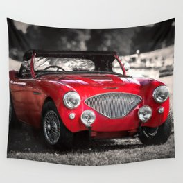 Austin Healey 100 Wall Tapestry