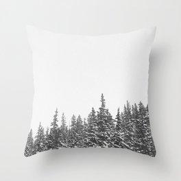 i-70 west Throw Pillow