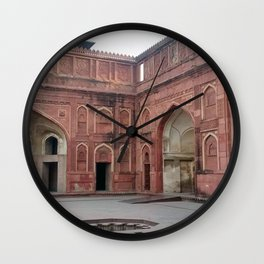 Red Fort Wall Clock