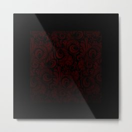 Red Florentine Metal Print