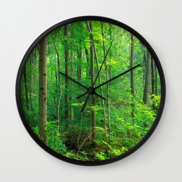 Forest 7 Wall Clock
