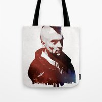 taxi driver Tote Bags featuring Taxi Driver by Mahdi Chowdhury