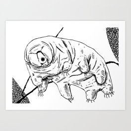 Water Bear Art Print