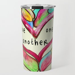 Love One Another John 13:34 Travel Mug