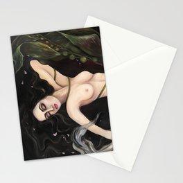 Entangled Mermaid Stationery Cards