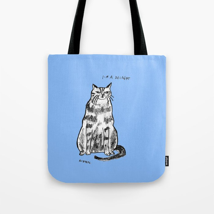 I'm a delight Tote Bag