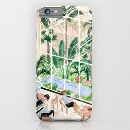Resort Lobby iPhone Case