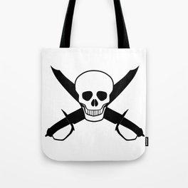 Skull and Cutlasses Tote Bag