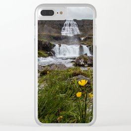 Dynjandi I Clear iPhone Case