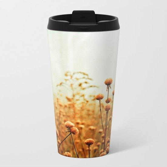 Daybreak in the Meadow Metal Travel Mug