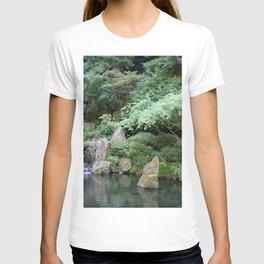 Japanese Garden Calmness T-shirt