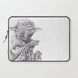 Yoda sketch Laptop Sleeve