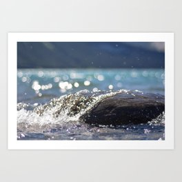 Splash Over Art Print