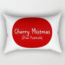 Merry Christmas - Drink Responsibly Rectangular Pillow