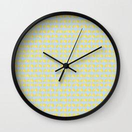 Catch the Half Lemon (Pattern Version) Wall Clock