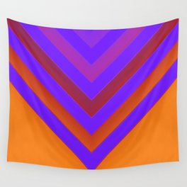 Sunset Chevron Wall Tapestry