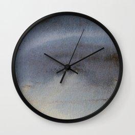Oil Slick Abstract Art Wall Clock