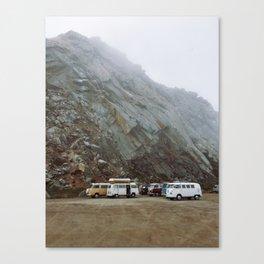 Westfalia Vanlife Gathering Canvas Print