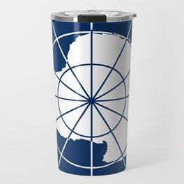 Flag of Antarctica Travel Mug