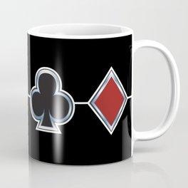 Spades Hearts Clubs Diamonds Coffee Mug
