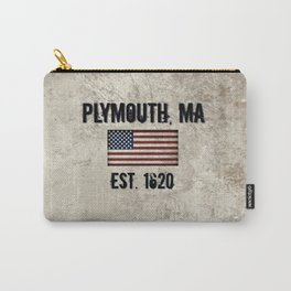 Plymouth, MA.  Established 1620 Carry-All Pouch