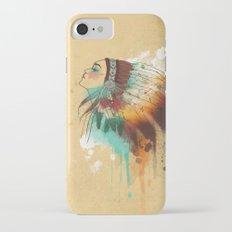 Native American Girl Slim Case iPhone 7