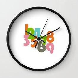 Lemme Get Them Digits Wall Clock