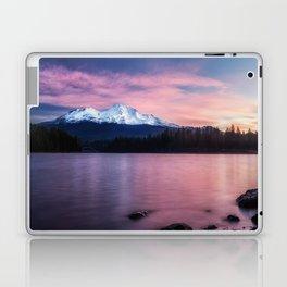 Sublime a sunrise at Lake Siskiyou with Mt. Shasta Laptop & iPad Skin