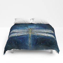 Interstellar Dragonfly Comforters