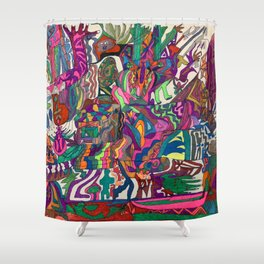 A Time in my Life Shower Curtain