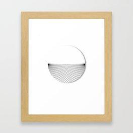 Rising over the Ocean Framed Art Print