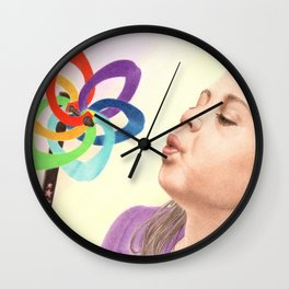 Child's Toy Wall Clock