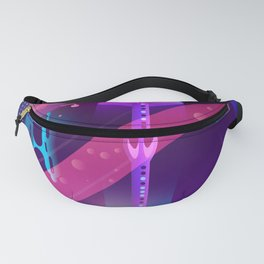 Synthwave Neon City #2 Fanny Pack