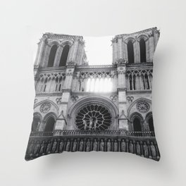 Notre Dame (Ouest) Throw Pillow