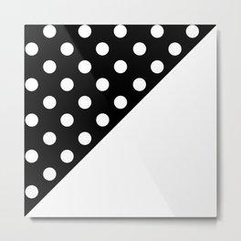 MILLENNIAL ART (BLACK-WHITE) Metal Print