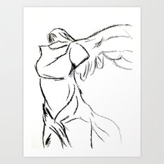Winged Victory 1 Art Print