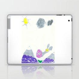 Slow Down the Mountain Snail Laptop & iPad Skin