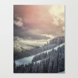 Off Piste Canvas Print